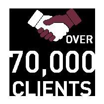 70000 clients